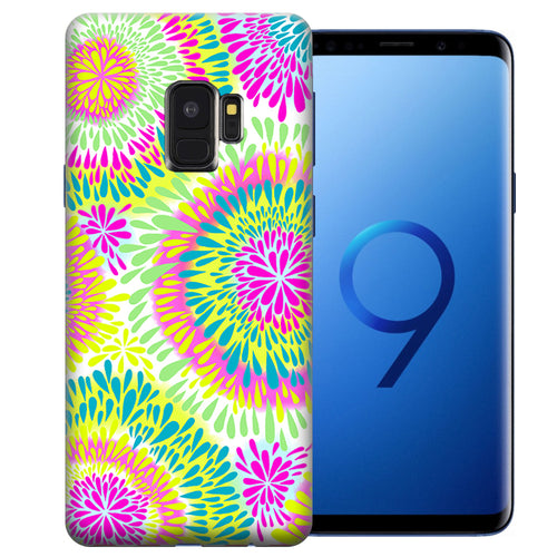 Samsung Galaxy S9 Tie Dye Tears Design TPU Gel Phone Case Cover