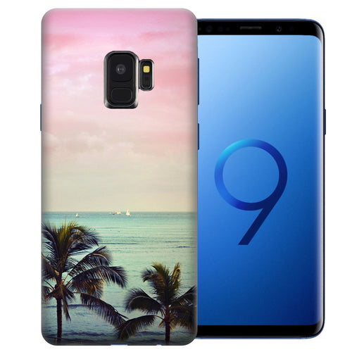 Samsung Galaxy S9 Vacation Dreaming Design TPU Gel Phone Case Cover