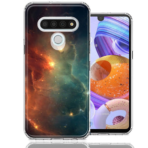 LG Stylo 6 Nebula Design Double Layer Phone Case Cover