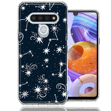 LG Stylo 6 Stargazing Design Double Layer Phone Case Cover