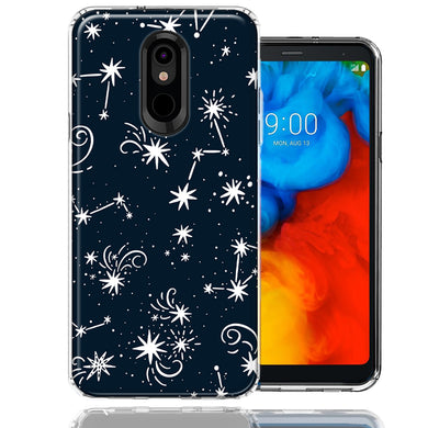 LG K40/Harmony 3 Stargazing Design Double Layer Phone Case Cover