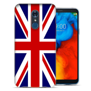 LG Stylo 4 England British Flag Design TPU Gel Phone Case Cover