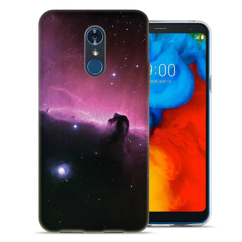 LG Stylo 4 Horsehead Nebula Design TPU Gel Phone Case Cover