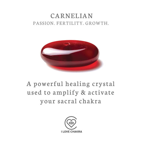 Carnelian crystals and their meanings