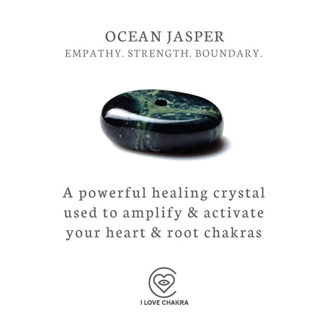Ocean jasper Crystals meanings