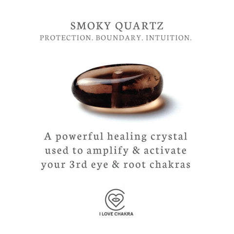 smoky quartz crystal healing