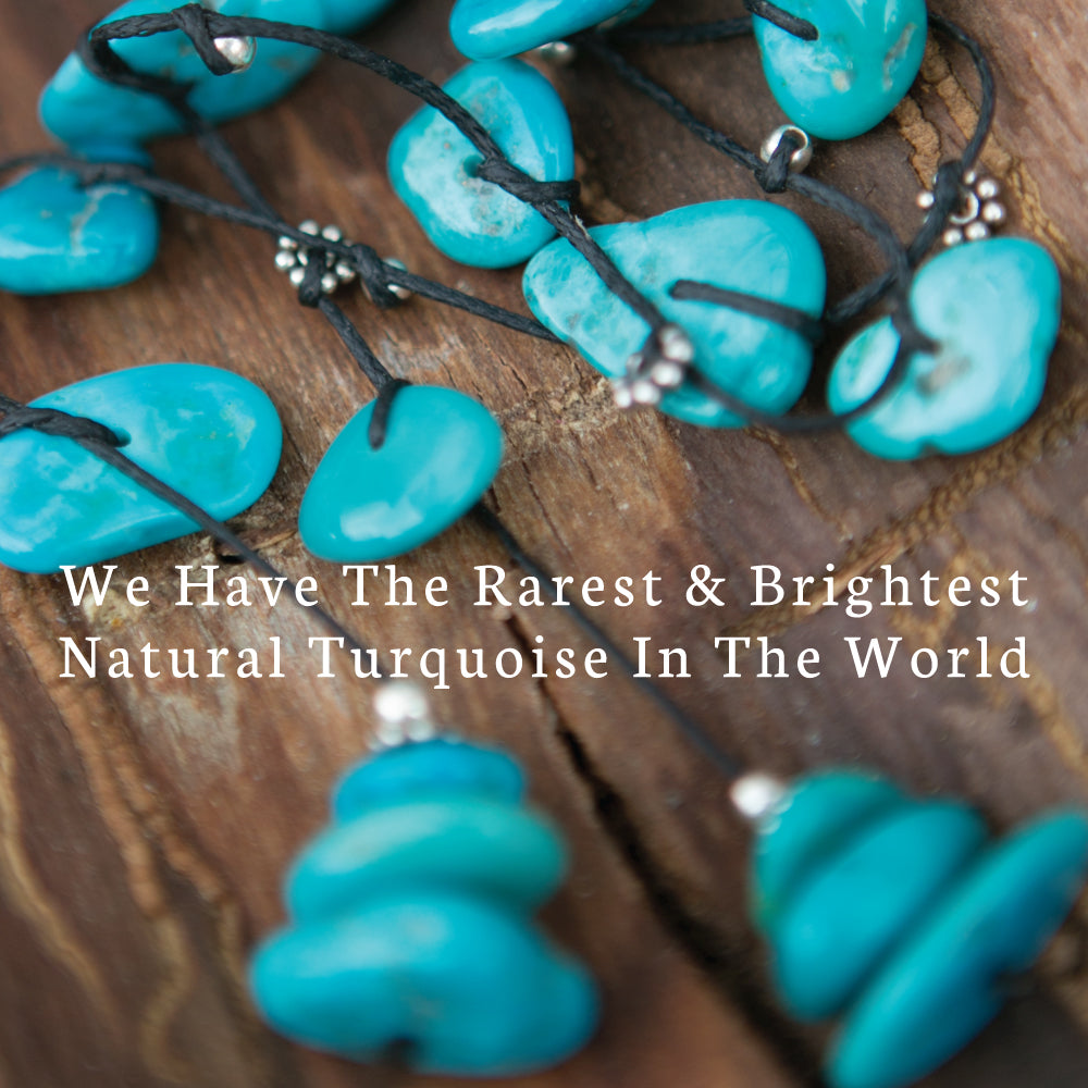 Real natural turquoise Necklace