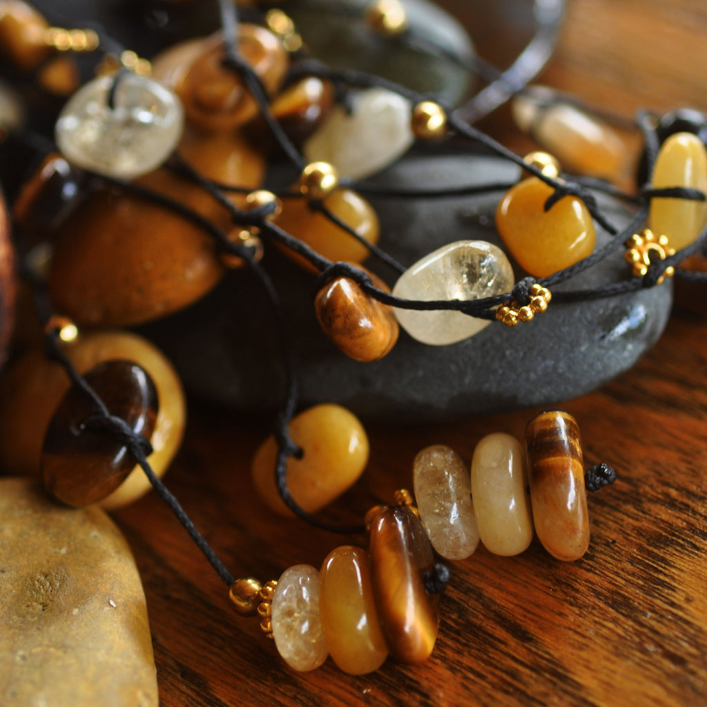 Natural Abundance Crystal Necklace