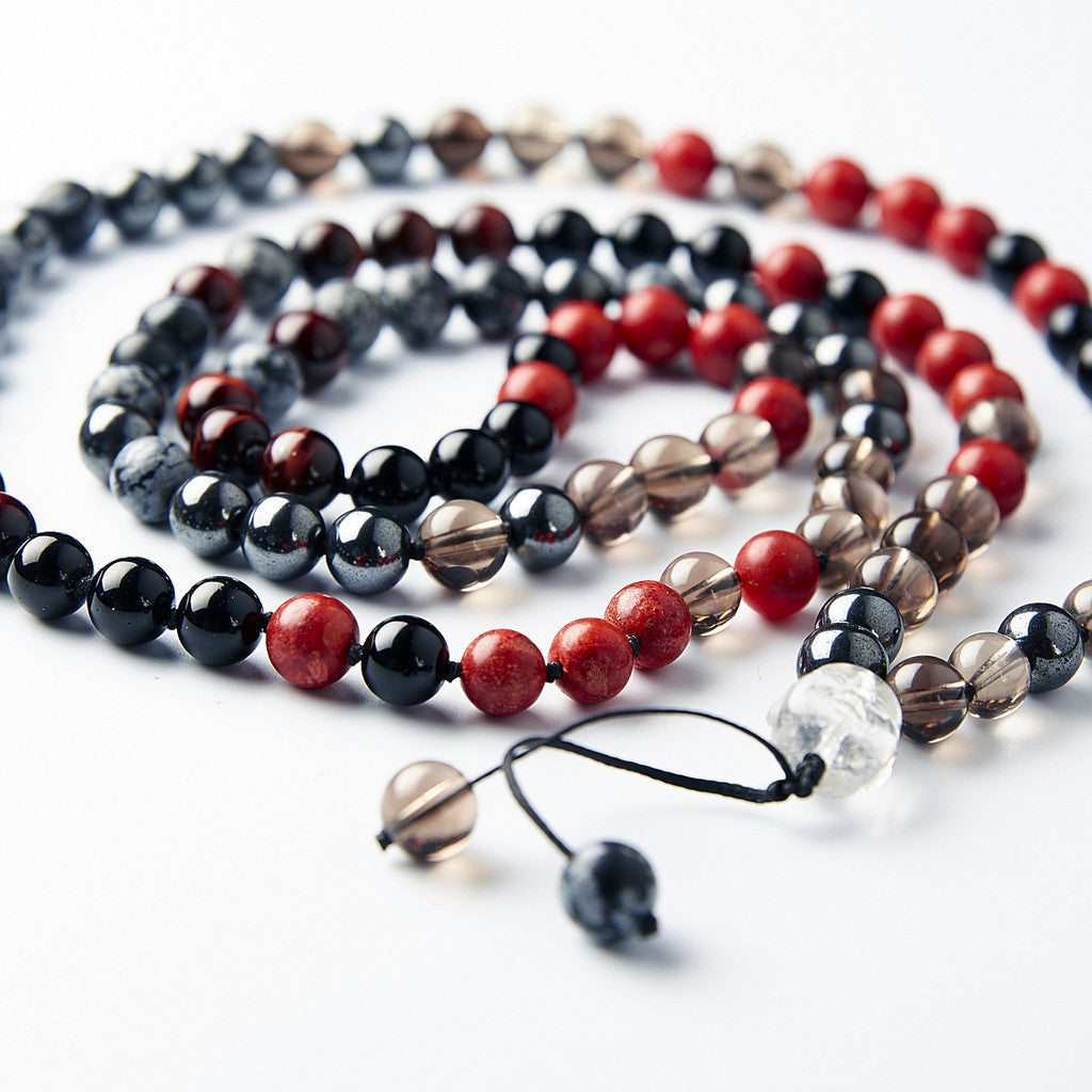 Happy Buddha Root Chakra Mala - Grounding & Strength - i Love Chakra