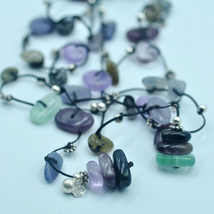 Crystal Necklace by I Love Chakra