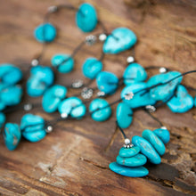 American Turquoise Necklace - Love & Expression - i Love Chakra