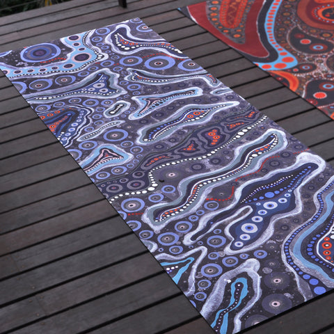 Yoga Mat - Air Print
