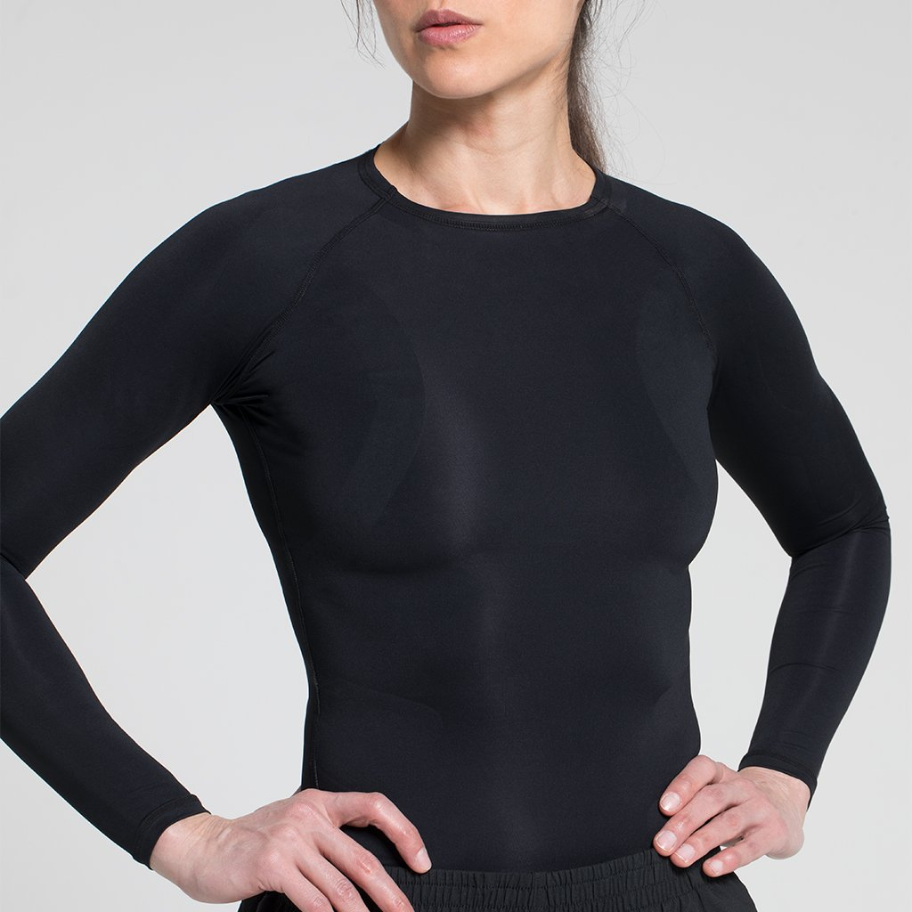 E75 WOMEN'S COMPRESSION LONG SLEEVE T-SHIRTS