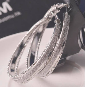 Glamorous Hoop Earrings