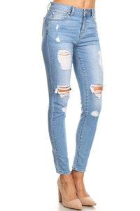 EnJean Distressed Denim