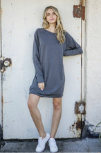 Load image into Gallery viewer, Pullover Sweater Dress