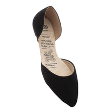 Load image into Gallery viewer, Black La Femme Flats
