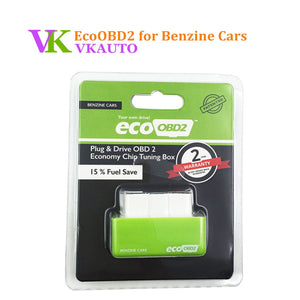 New EcoOBD2 Benzine Gasoline Cars Economy Chip Tuning Box Plug and Drive Eco OBD2 Interface 15% Fuel Save