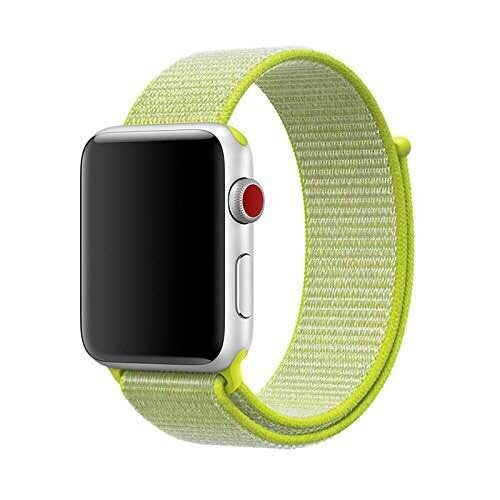 38mm 42mm 40mm 44mm band for apple watch series 1 2 3 woven nylon band strap for iWatch 4 colorful pattern classic buckle