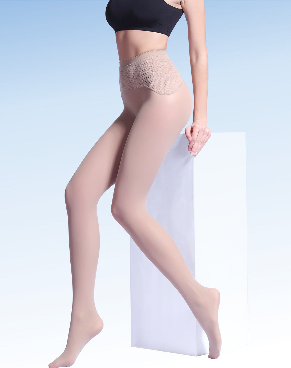Nude Sheer 20 Denier Tights - Yanka Sulivan