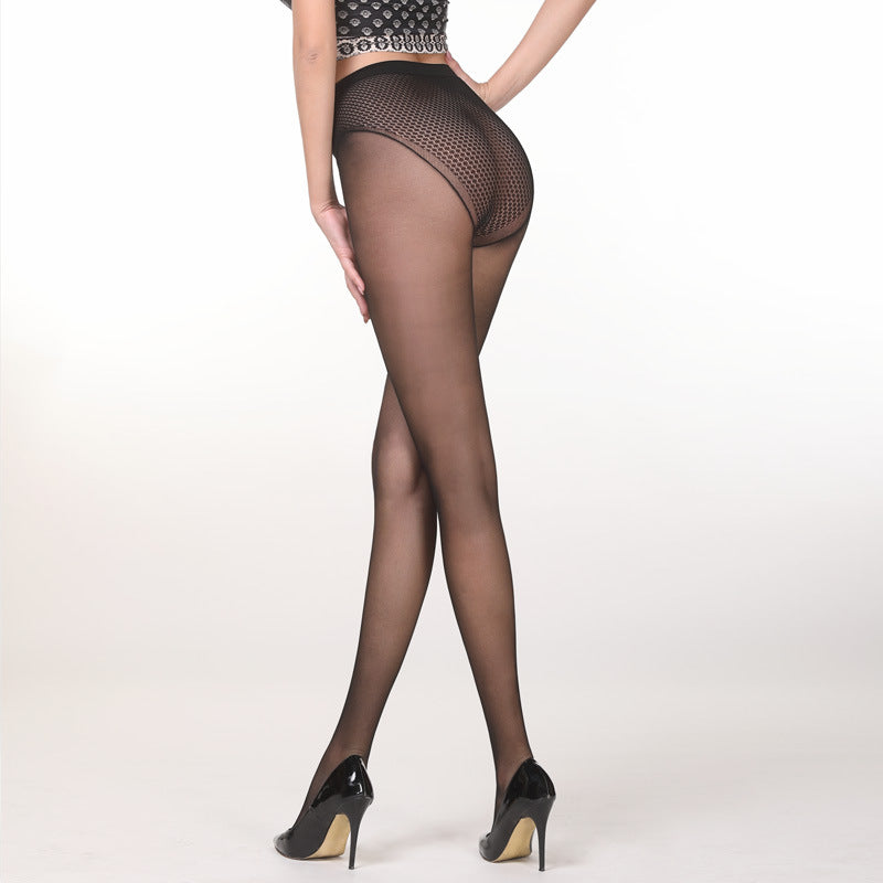 Black Sheer 8 Denier Tights - Yanka Sulivan
