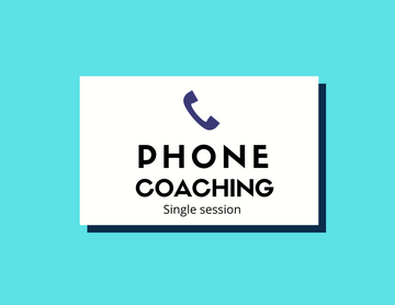 Phone Coaching - Single Session