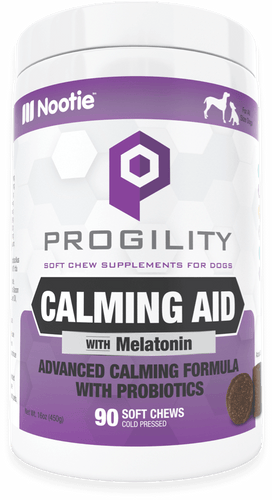 Progility Calming Aid Soft Chew Supplements for Dogs
