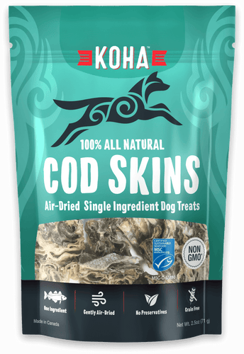Cod Skins All Natural Treats