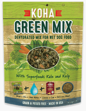Load image into Gallery viewer, Green Mix - Dehydrated Mix for Wet and Raw Dog Food
