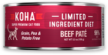 Load image into Gallery viewer, Limited Ingredient Diet Beef Paté for Cats