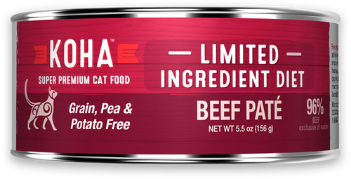Limited Ingredient Diet Beef Paté for Cats