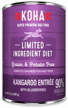 Load image into Gallery viewer, Limited Ingredient Diet Kangaroo Entrée for Dogs