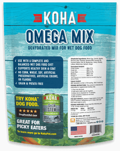 Omega Mix - Dehydrated Mix for Wet and Raw Dog Food