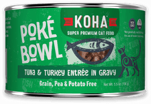 Load image into Gallery viewer, Poké Bowl Tuna &  Turkey Entrée in Gravy for Cats