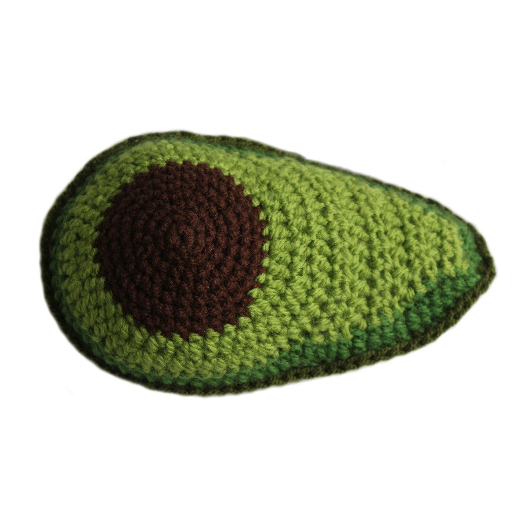 Knit Rattle Avocado - Silk Road Bazaar