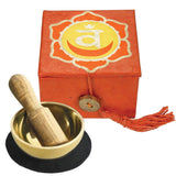 "Mini Meditation Bowl Box: 2"" Sacral Chakra - DZI (Meditation)"