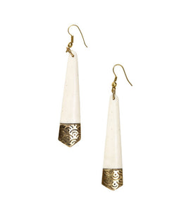 Anika Earrings Tapered Design - Matr Boomie (Jewelry)