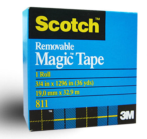 3M Scotch Magic Removable Tape 19mm x 66m