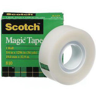 3M Scotch Magic Tape 19mm x 33m