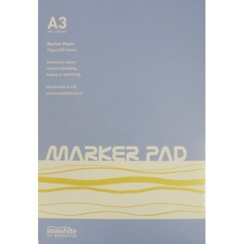 Seawhite Marker Pads 70GSM  - Two Sizes