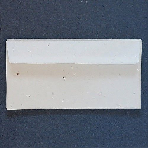 KHADI HANDMADE COTTON RAG PAPER - DL Envelopes - Pack of 20