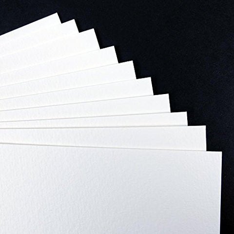 SEAWHITE WATERCOLOUR PAPER PACK - 350gsm - A3 (10 Sheets)