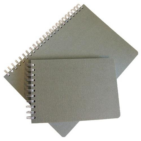SEAWHITE ECO RECYCLED PAPER HARDBACK SKETCHBOOK - A5 - Portrait