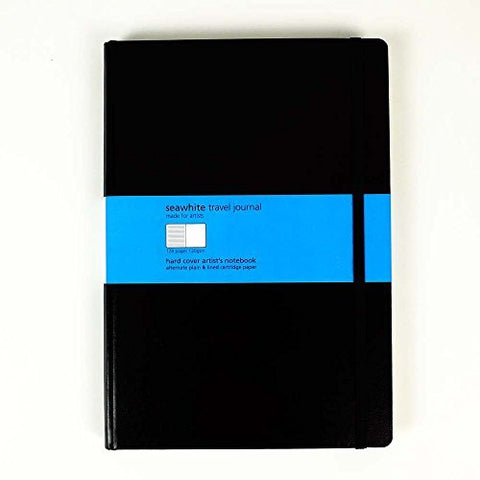 SEAWHITE TRAVEL JOURNAL ALTERNATE LINED PAGES - A4
