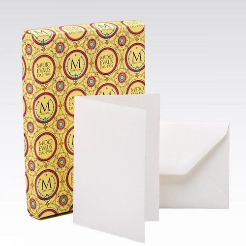 FABRIANO MEDIOEVALIS 208L x 100 - Folded Cards - Portrait - 9 x 13 cm