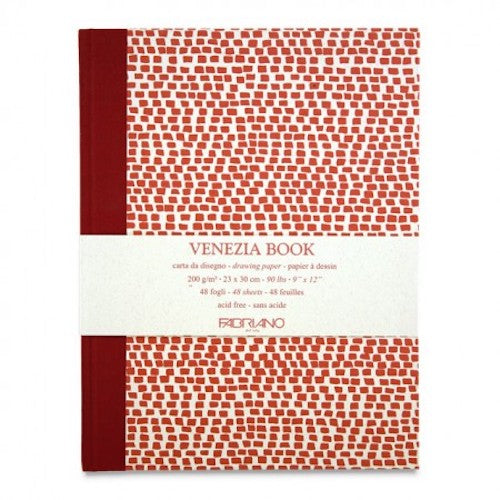 FABRIANO ACCADEMIA VENEZIA NOTEBOOK/SKETCHBOOK 9 x 12 inches/23x30cm