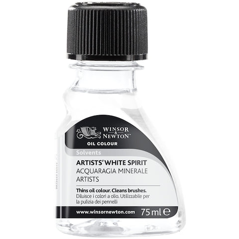 WINSOR & NEWTON DISTILLED WHITE SPIRIT 75ml