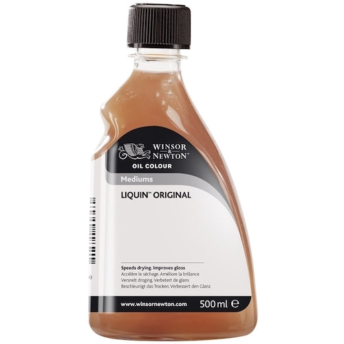 WINSOR & NEWTON OIL PAINTING LIQUIN ORIGINAL - 500ml