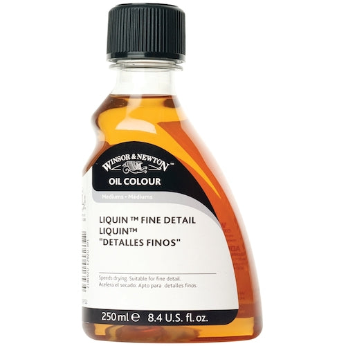 WINSOR & NEWTON OIL PAINTING LIQUIN FINE DETAIL - 250ml