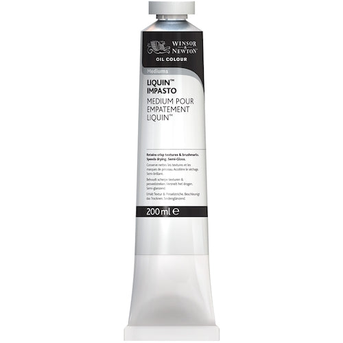 Winsor & Newton Oil Based Medium Liquin Impasto 200ml